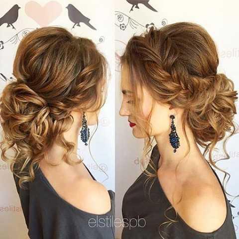 23 Langen Lockigen Hochsteckfrisur Frisuren Haar Frisuren
