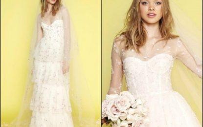 Hochzeit haartrends aus dem Frühjahr 2018 Designer brautkollektionen
