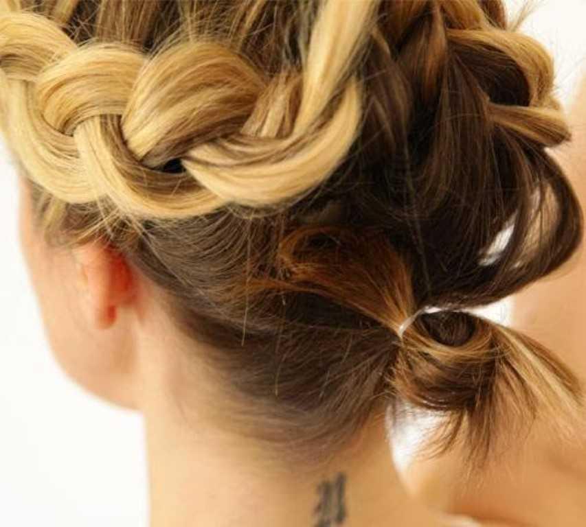 Leichte Frisur Fur Kurze Haare Haar Frisuren