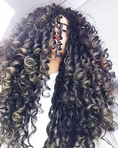 Frisuren fur mittellanges lockiges haar