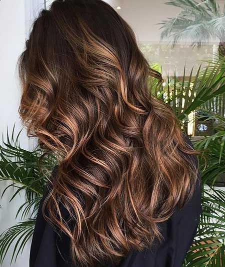 Lange lockige haare schnitt