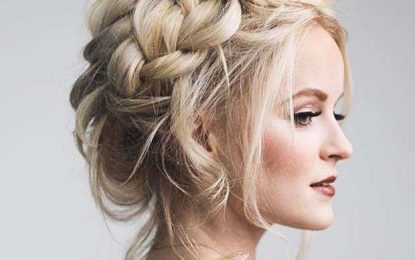 21 Schöne Frisur Ideen für Prom Night