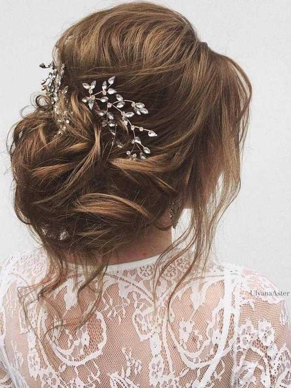 Haar Frisuren 65 Neue Romantische Lange Hochzeit Frisuren