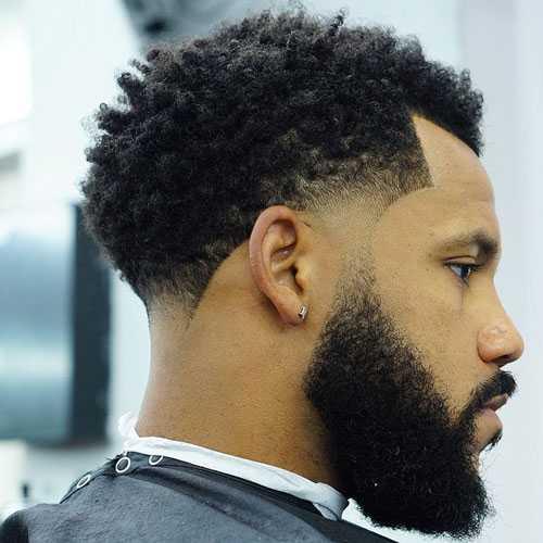 Fade Haarschnitte Für Schwarze Männer Beste Arten Von Fades