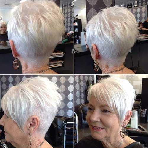 Herrliche Kurze Haarschnitte Fur Altere Frauen Haar Frisuren