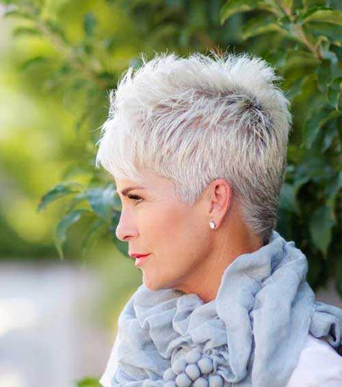 Herrliche Kurze Haarschnitte Für ältere Frauen Haar Frisuren
