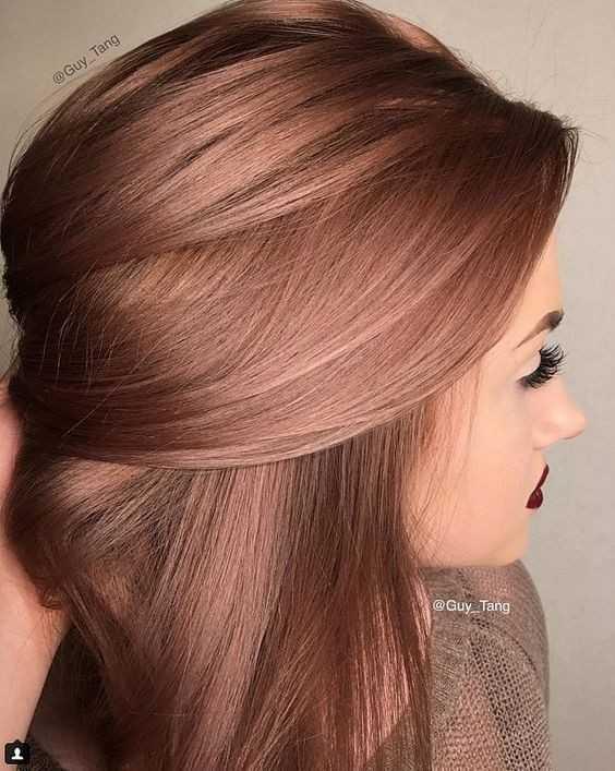 10 Winter Haarfarbe Ideen Fur Das Jahr 2018 2019 Ombre Balayage