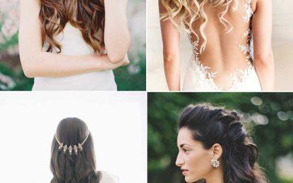 16 Unwiderstehliche Zarte Feminine Hochzeit Frisuren