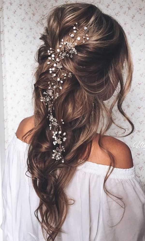 13 Fabelhafte Brautfrisuren Fur Lange Haare Haar Frisuren
