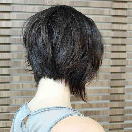 20 Sexy Gestapelt Frisuren Fur Kurze Haare Kann Man Sie Leicht