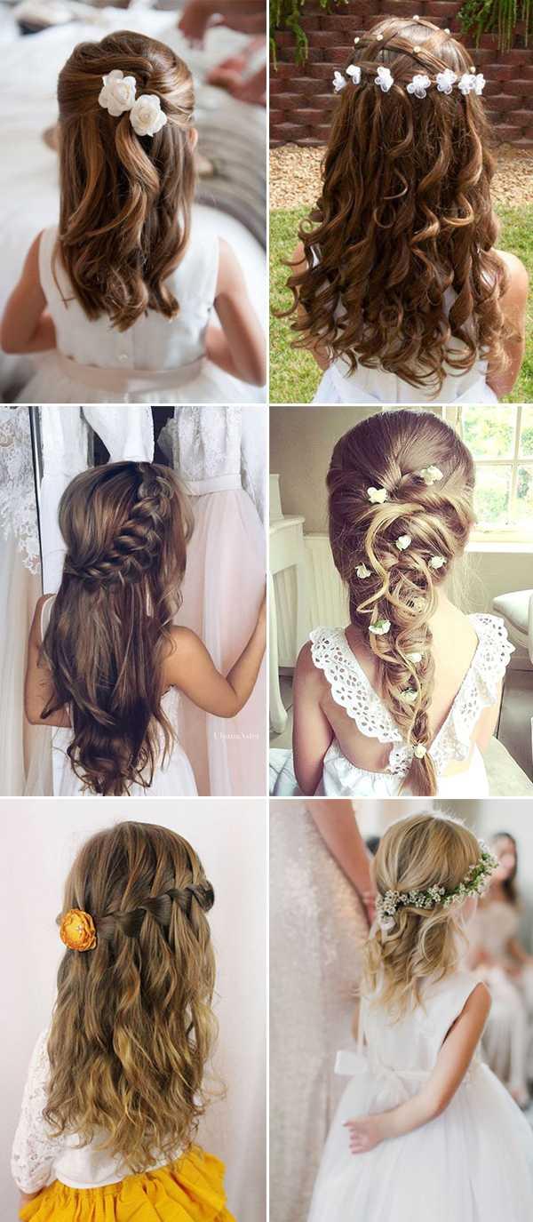 Blumenmadchen frisuren fur kurze haare