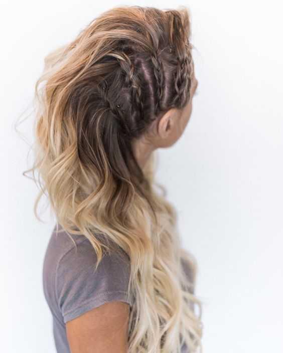 Haar Frisuren 23 Erstaunliche Geflochtene Frisuren Für Mittlere Und