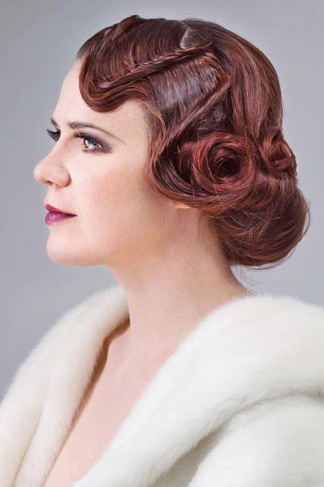 27 Absolut Wunderschone Vintage Hochzeit Frisuren 27 Haar