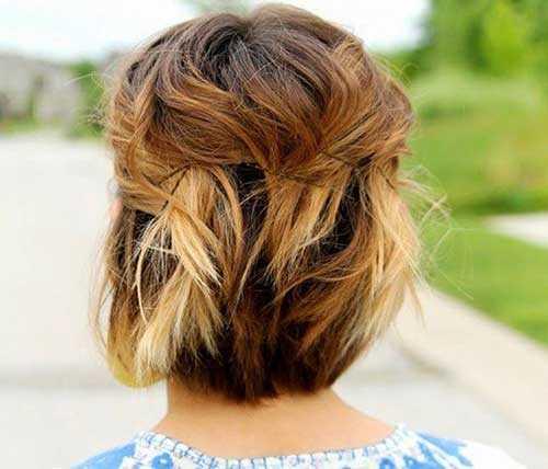 30 Nette Und Einfache Frisuren Fur Kurze Haare Haar Frisuren