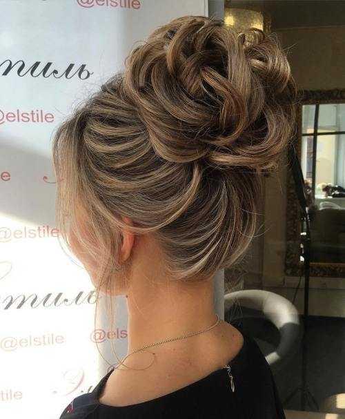 60 Hochsteckfrisuren Fur Dunnes Haar Die Maximale Stil Zeigen