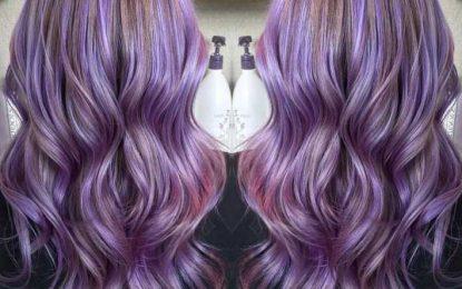 Haar-Farbe-Ideen : 20 Wunderschöne Pastell-Lila Frisuren