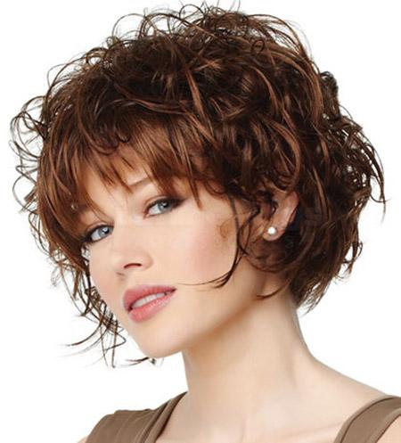 21 Stilvolle Und Glamouröse Lockige Bob Frisur Für Frauen
