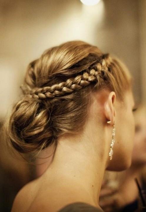 10 Geflochtene Hochsteckfrisuren Für 2018 Haar Frisuren